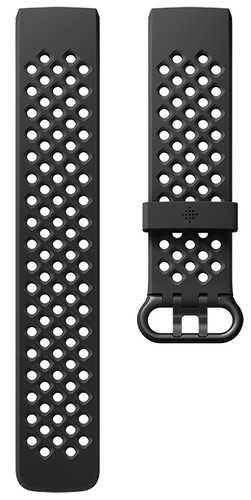 Fitbit Charge 3 Sportband Siliconen Zwart L Main Image
