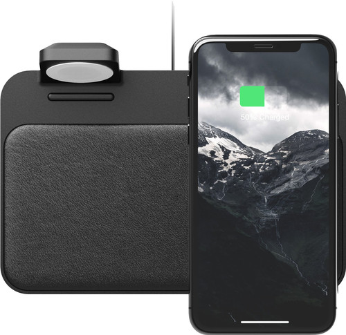 Nomad Base Station Wireless Charger with integrated Apple Watch charger Main Image