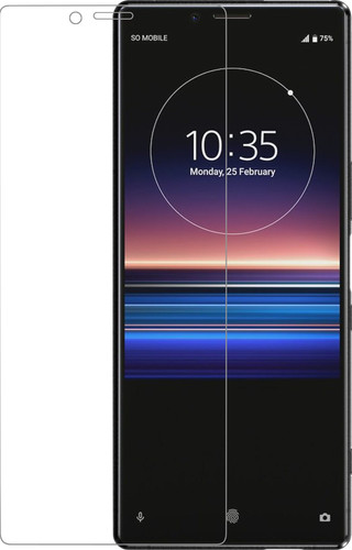 Azuri Curved Gehard Glas Sony Xperia 1 Screenprotector Glas Main Image