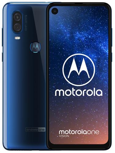 Motorola One Vision Blue Main Image