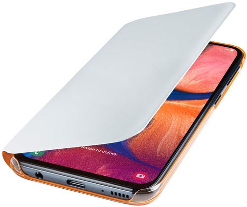 Samsung Galaxy A20e Wallet Book Case White Main Image