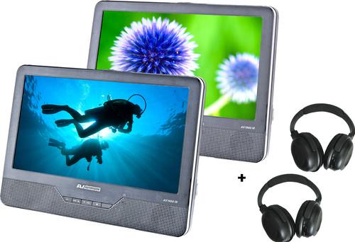 Autovision AV1900IR DUO Deluxe + 2x Autovision AV-IRS koptelefoon Main Image