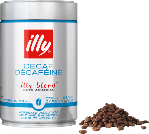 Illy Decaffeinated coffee beans 250 grams Main Image