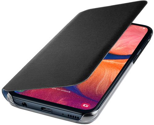 Samsung Galaxy A20e Wallet Book Case Black Main Image