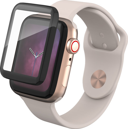 InvisibleShield Curve Elite Apple Watch Series 4 44mm Screenprotector Gehard Glas Main Image