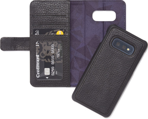 Decoded Leather 2-in-1 Wallet Samsung Galaxy S10e Zwart Main Image