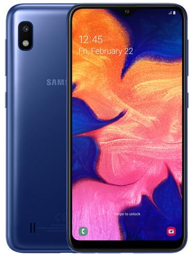 Samsung Galaxy A10 Blauw Main Image