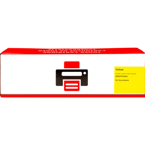 Own brand 205A Toner Yellow XL for HP printers (CF532A) Main Image