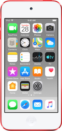 Apple iPod Touch (2019) 128 GB RED Main Image