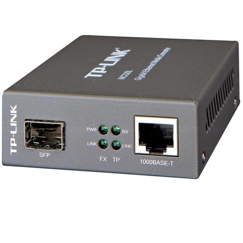 TP-Link Gigabit Ethernet Media Converter MC220L Main Image
