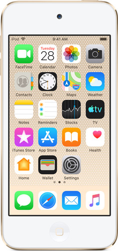 Apple iPod Touch (2019) 256 GB Goud Main Image