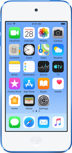 Apple iPod Touch (2019) 256 GB Blauw Main Image