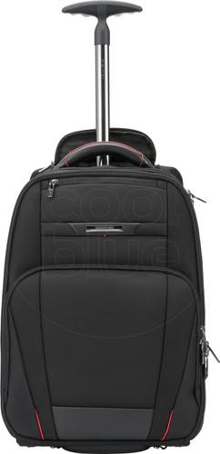 "Samsonite Pro-DLX5 Laptop Backpack Wheels 17,3"" Black Main Image"