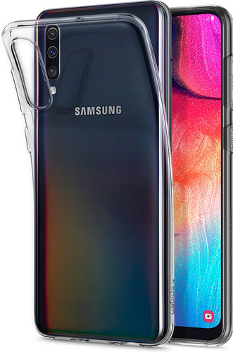 Spigen Liquid Crystal Samsung Galaxy A50 Back Cover Transparent Main Image