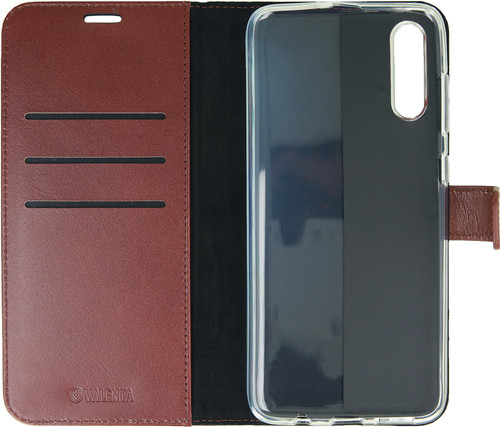 Valenta Booklet Gel Skin Samsung Galaxy A50 Brown Leather Main Image