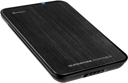 Sharkoon QuickStore Portable USB 3.0 2.5-Inch Black Main Image