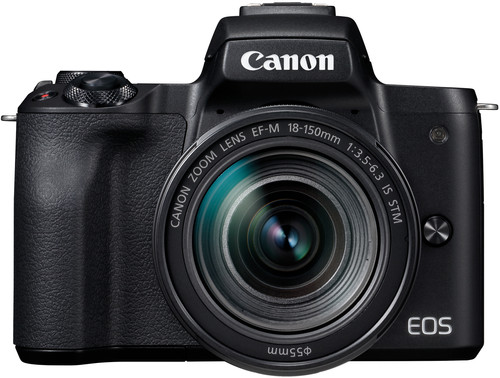 Canon EOS M50 Body Zwart + 18-150mm IS STM Main Image