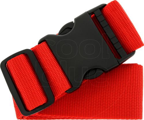 SININ suitcase belt red Main Image