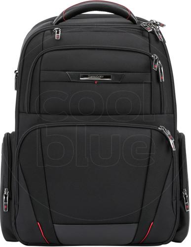 "Samsonite Pro-DLX5 Expandable Laptop Backpack 17.3 ""Black Main Image"