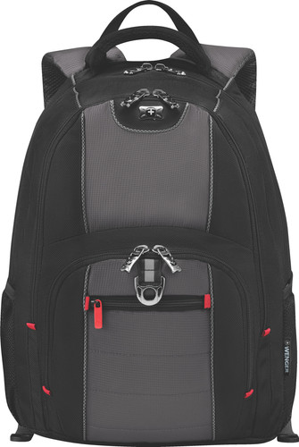 Wenger Pillar Backpack 16 '' Black Main Image