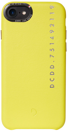 Decoded Leather Apple iPhone 6 / 6s / 7/8 Back Cover Yellow Main Image