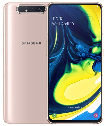 Samsung Galaxy A80 Goud Main Image