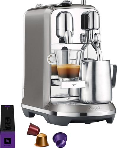 Sage Nespresso Creatista Plus SNE800SHY Smoked Hickory Main Image
