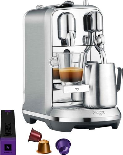 Sage Nespresso Creatista Plus SNE800BSS Stainless Steel Main Image