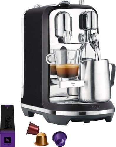 Sage Nespresso Creatista Plus SNE800BTR Black Truffel Main Image