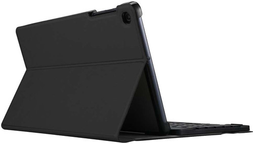 Just in Case Premium Bluetooth Keyboard Samsung Galaxy Tab S5e Book Case Zwart QWERTY
