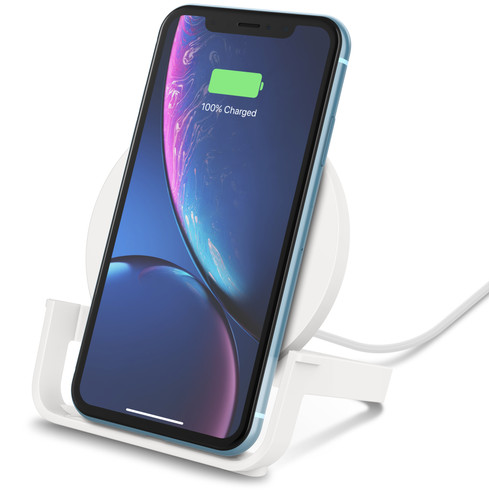Belkin Boost Up Wireless Charger 10W with Stand White Main Image