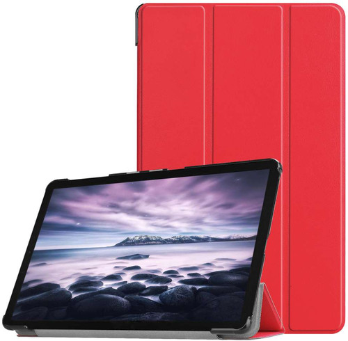 Just in Case Samsung Galaxy Tab A 10.5 Smart Tri-Fold Case Red Main Image