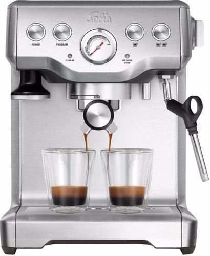 Solis Caffespresso Pro 117 Silver Main Image