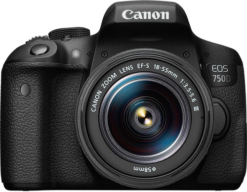 Canon EOS 750D + 18-55mm f/3.5-5.6 DC III Main Image
