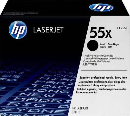 HP 55X LaserJet Toner Black XL (CE255X) Main Image