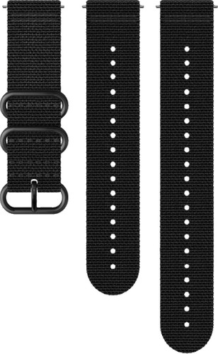 Suunto Explore 2 24mm Strap Textile Black Main Image