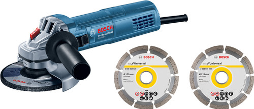 Bosch Professional GWS 880 + 2x diamond wheel in case Main Image