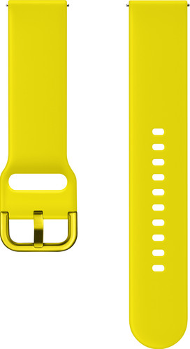 Samsung Galaxy Watch Active Band Plastic Yellow Main Image