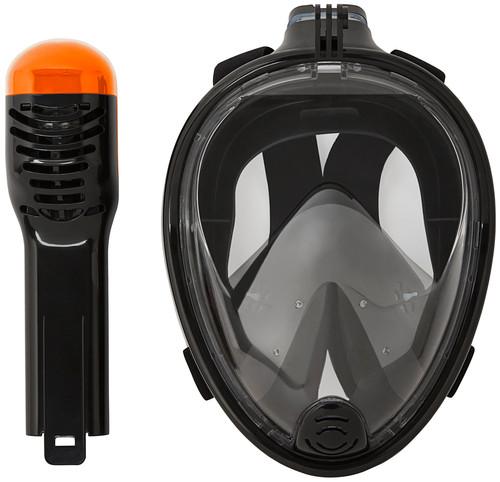 Vizu ExtremeX Full Face Snorkeling Mask incl action camera mount - Size M/L Main Image