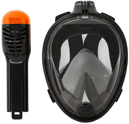 Vizu ExtremeX Full Face Snorkeling Mask incl action camera mount - Size S/M Main Image