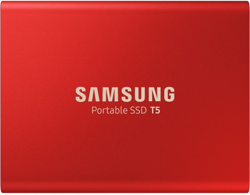 Samsung Portable SSD T5 1TB Red Main Image