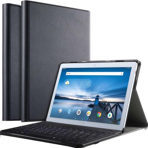 Just in Case Premium Bluetooth Lenovo Tab P10 Toetsenbord Hoes Zwart QWERTY Main Image