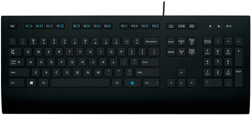 Logitech K280e Keyboard Qwerty Main Image