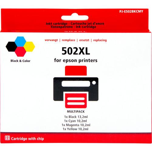 Pixeljet 502XL 4-Kleuren Pack voor Epson printers (C13T02V64 Main Image
