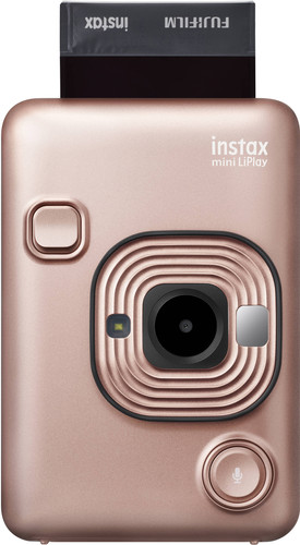 Fujifilm Instax mini LiPlay Blush Gold Main Image