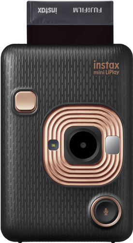 Fujifilm Instax mini LiPlay Elegant Black Main Image