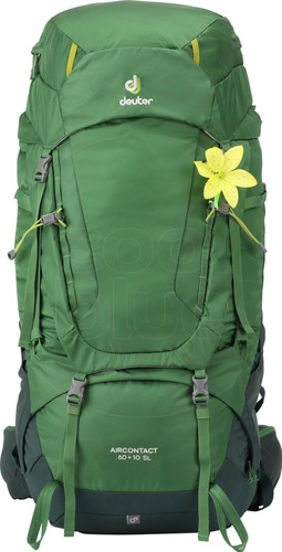 Deuter Aircontact 60 + 10L SL Leaf / Forest Main Image