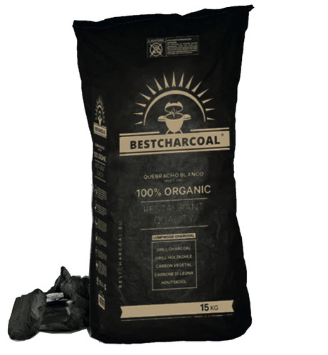 Best Charcoal Quebracho Blanco 15 kg Main Image