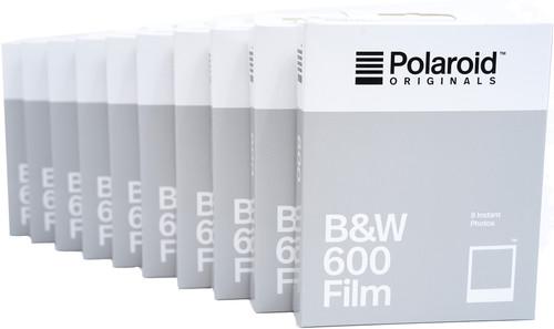 Polaroid Originals B&W Instant Photo Paper 600 (10x 8 pieces) Main Image