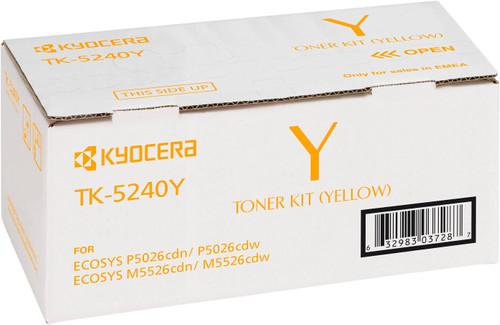Kyocera TK-5240Y Toner Yellow (1T02R7ANL0) Main Image